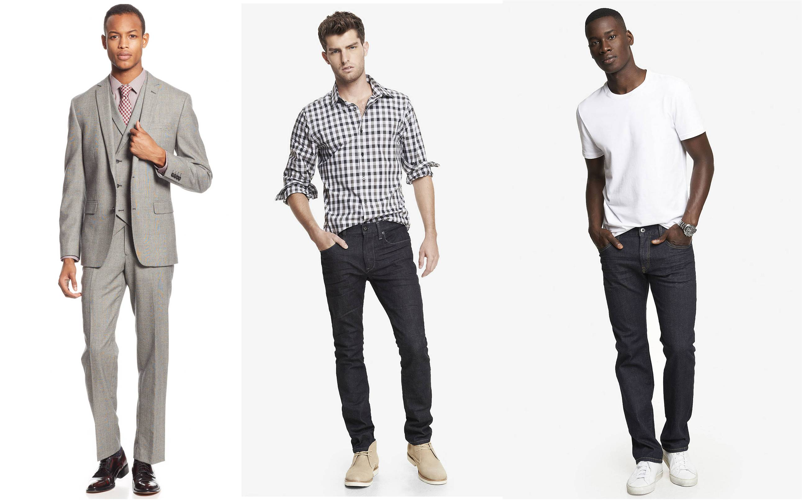 How to choose clothes for skinny men Shirts for thin guys