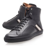 "Fashion Review : Black Bally ""Oldani"" High-Top Trainer"