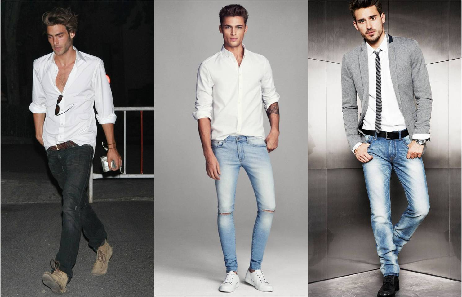 the most important outfit you should have men s white