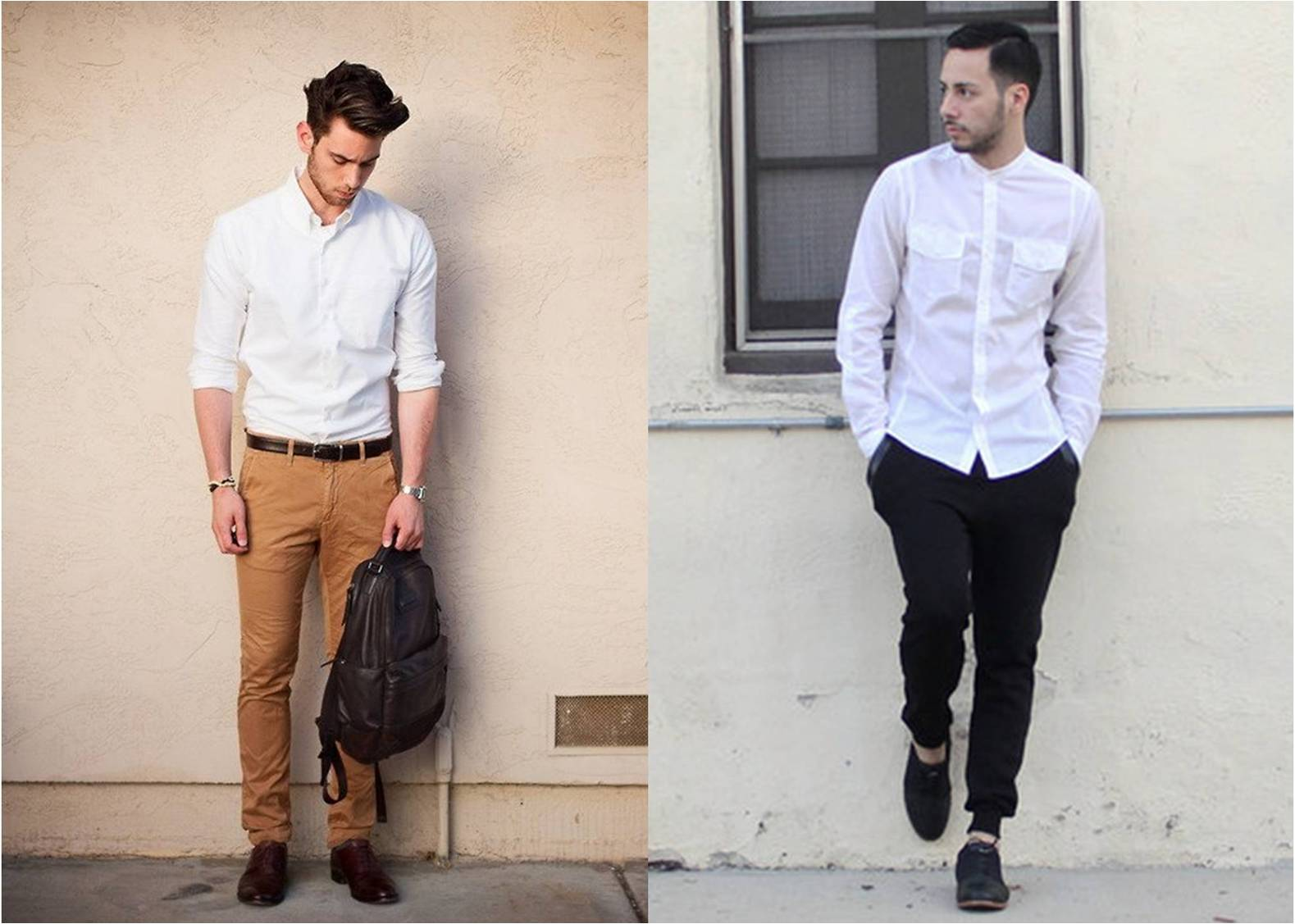The most important outfit you should have men s white for White shirt outfit mens