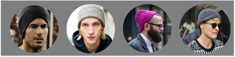 how to wear a beanie