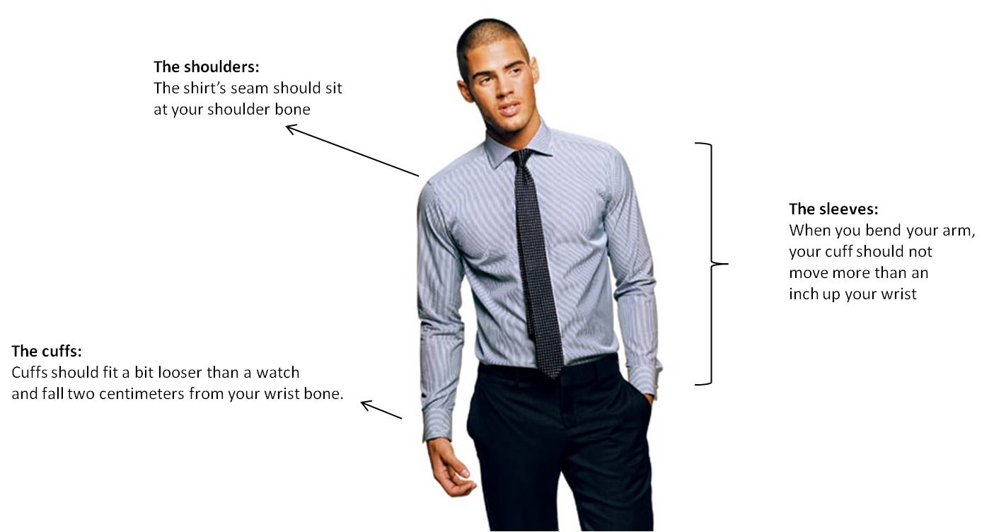 dress shirt fit for men