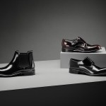 glossy leather shoes