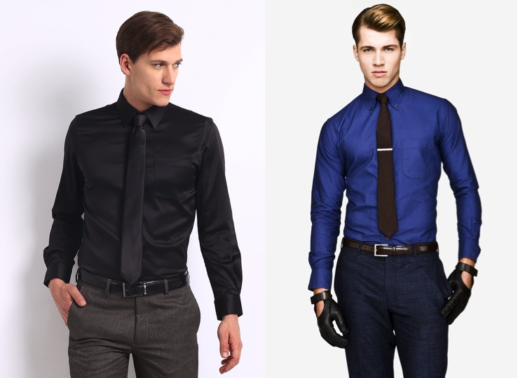 How to get sharp with shirt and tie combinations for Navy blue color shirt