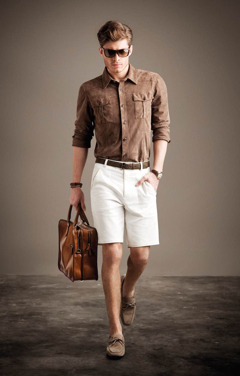 casual men�s shoes to wear with shorts