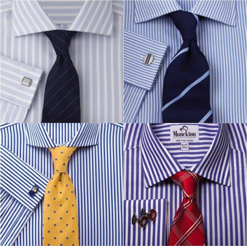 How to get sharp with shirt and tie combinations Blue suit shirt tie combinations