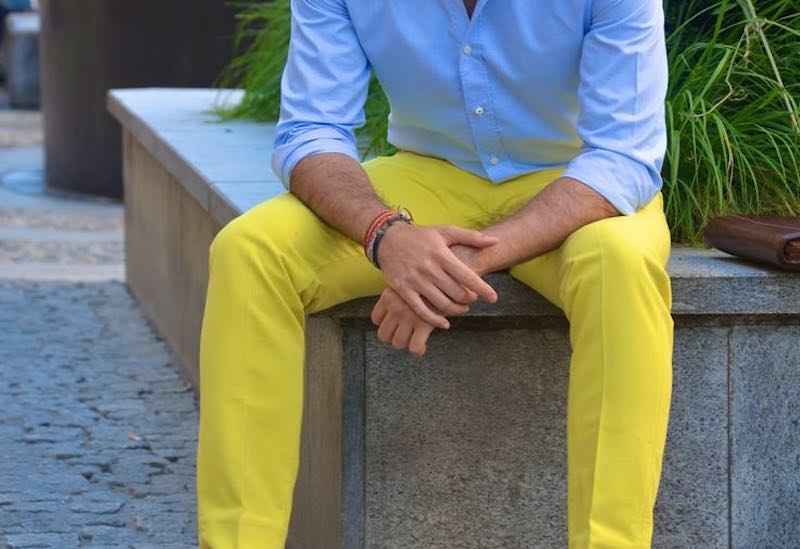 The Fashion Color Wheel As A Guideline For Mens Outfits