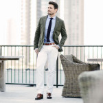 Get Ready To Men's White Linen Pants