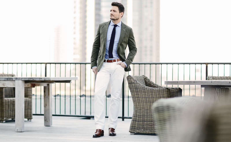 mens white linen pants