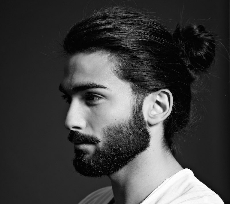 Men's long hairstyles