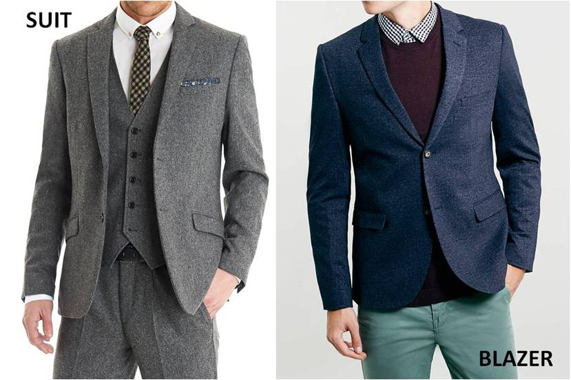suit vs blazer