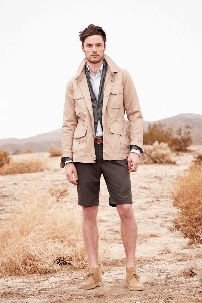man in desert fashion
