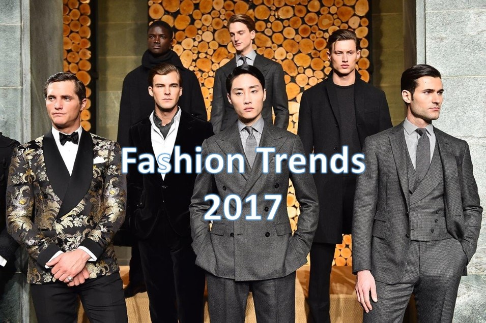 mens fashion trends in 2017