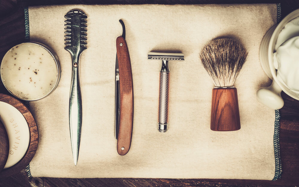 shaving against the grain