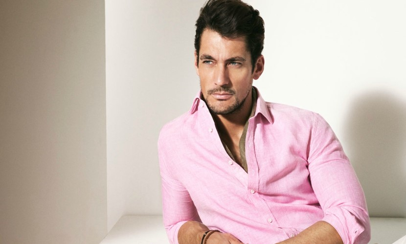 how to wear pink shirt for men