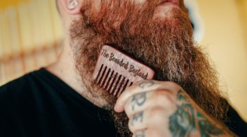 men with patchy beard