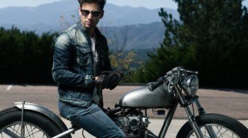 leather products for men